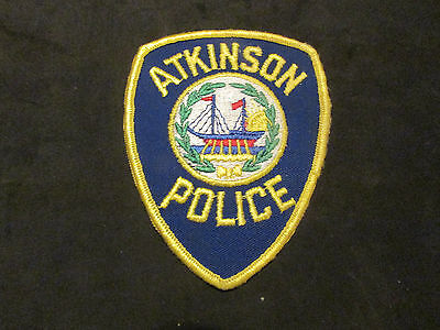 Atkinson New Hampshire Police Patch
