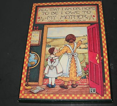 Mary Engelbreit Colorplak greeting card ME105 Owe My Mother Lincoln Quote   100