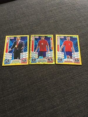 Costs Rica Match Attax 2014 World Cup Inc Manager X 3
