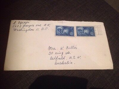 1955 USA Washington First Day Cover Addressed