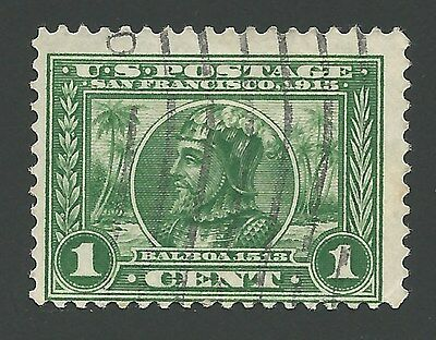 Vintage 1915 Panama Pacific International Exposition San Francisco Balboa Stamp!