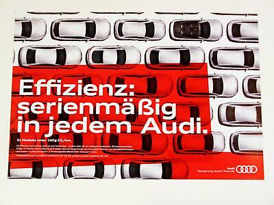 2010 Audi Automobile Print Advertisement German Photo Graphic Design 2 pages