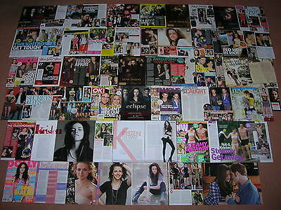 125+ KRISTEN STEWART Magazine Clippings