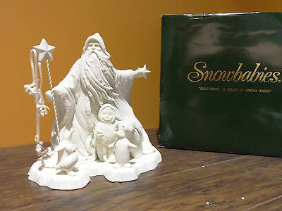 NEW Dept 56 68543 Snowbabies Jack Frost A Touch Of Winter Magic Christmas Figure