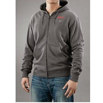 Milwaukee M12 Heated Hoodie Only - Gray - XL NWOT Grey Men's - No Kit No Charger