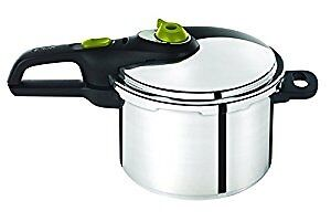 Tefal Secure 5 Neo Stainless Steel Pressure Cooker, 6 L