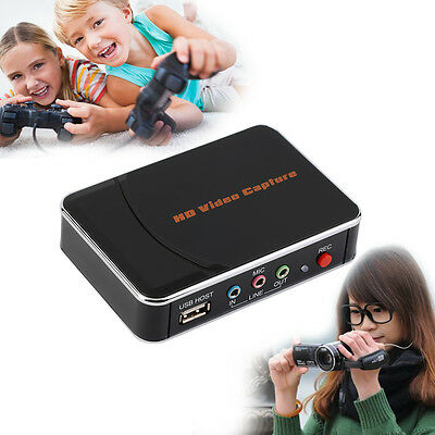 New HD 1080p HDMI/YPbpr Game Capture hd Video Recorder For Game Players ES