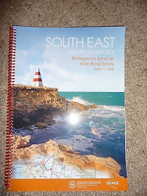 SA CFS Country Fire Service Emergency Services Map Book. Scanner Police Fire