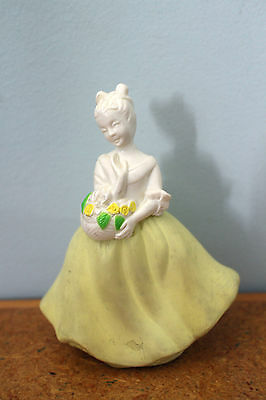 avon bottle geisha girl with flowers field flowers about 15cm!