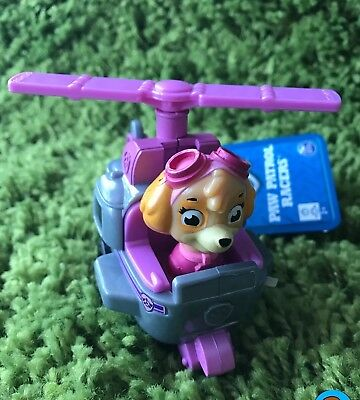 Licensed Paw Patrol Racer Skye Helicopter Kids Boy Girl Gift