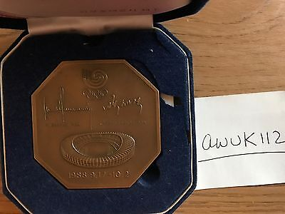 Olympic Participation Medal Seoul 1988 in original box