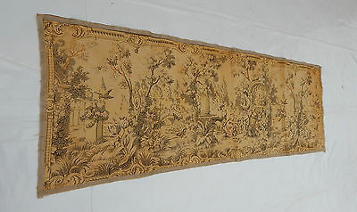 Vintage French Beautiful  Scene Tapestry 137x46cm (T649)