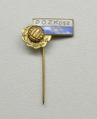 POZKosz Polish Basketball Pin Badge