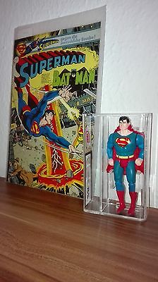 Super Powers Super Man Kenner 1984 UKG 85% 75% grade Comic Nr. 1  1980 mint