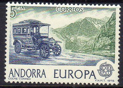 Spanish Andorra. Set from 1979. Edifil 125, 126. Mint never hinged.