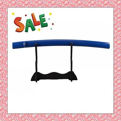 top quality popular blue shiny wood fittings saya for japanese katana sword