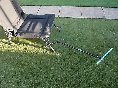Extending Feeder Arm Multi Jointed Fits Any Fishing Seatbox And Korum Carp Chair