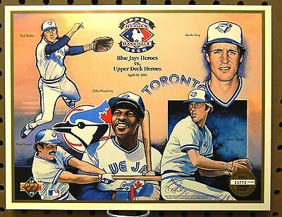 1992 Upper Deck Baseball Toronto Blue Jays Skydome  collectible