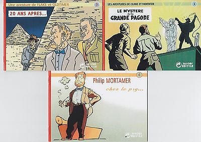 Parodie Pastiche Blake Et Mortimer Jacobs Recycle : Mystere Grande Pagode,..