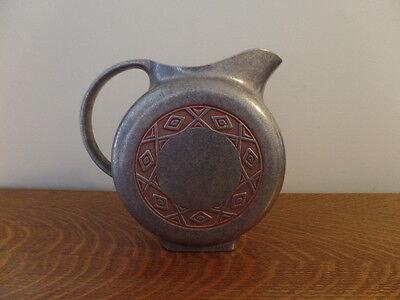 Wilton Armetale Zia Colored Embossed Pewter Water Pitcher - Free Shipping