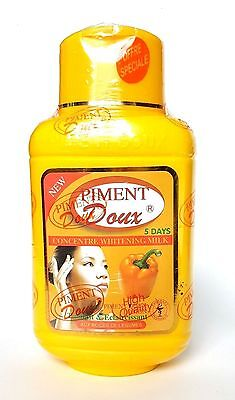 Piment Doux Concentrated Lightening With Fruit Acids Body Lotion 500ml 5 Days