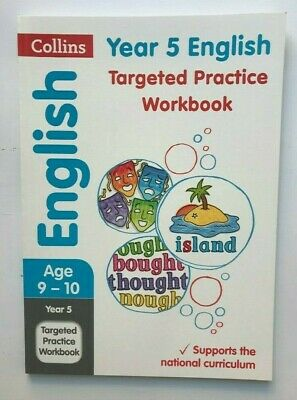 Ks2 Collins English Year 5 Targeted Practice Workbook Ages 9-10 New Paperback