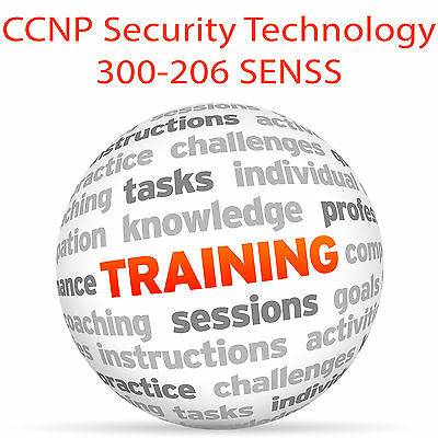 Cisco CCNP Security Technology 300-206 SENSS - Video Training Tutorial DVD