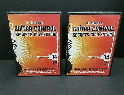 Ultimate Guitar Control Secrets 14 DVD Collection Free Shipping!