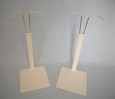 2 Metal doll stands for 40cm - 60cm dolls *heavy quality* other sizes available