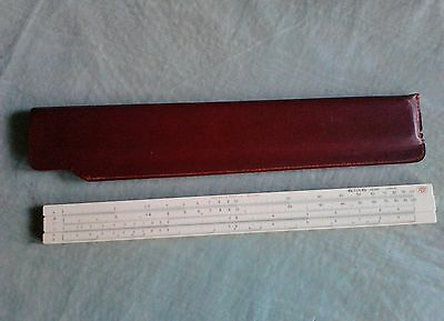 Vintage Frederick Post Co #1447  Bamboo Slide Rule Hemmi Japan