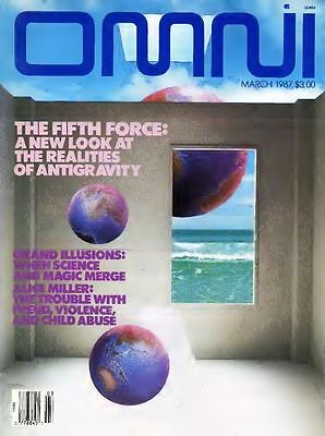 OMNI Magazine 196 issues PDF format on DVD science fiction