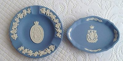Wedgwood Decoratiive Dishes Canada Coat of Arms & University of Manitoba   28a
