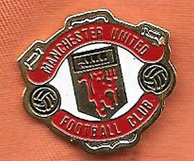 pin's pins Football Club Manchester United Angleterre