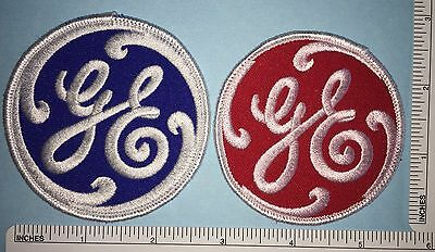 2 General Electric Ge Appliance Stove Fridge Employee Patches Patch Lot