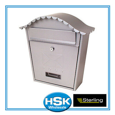 Sterling Classic Post Box - Silver - MB01S