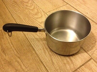 Revere Ware Copper Bottom 1.5 Qt Saucepan Stainless Vintage