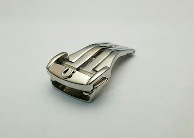 Deployment Buckles 14Mm/16Mm/18Mm/20Mm-For Omega In Stainless Steel