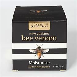 3 Packs of Wild Ferns Pure Bee Venom Moisturiser 100g