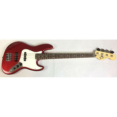 Fender Standard Jazz Bass RW Candy Apple Red