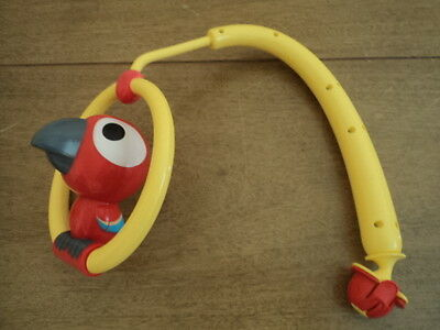 Evenflo Jumperoo Jump & Learn Jumper Exersaucer Replacement  Parrot Toucan Toy