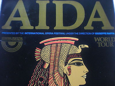 AIDA World Tour Program -In Great Shape! A Classic GEM! 1989