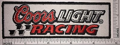 Coors Light Racing Nascar Team Patch Beer Brewery Patch