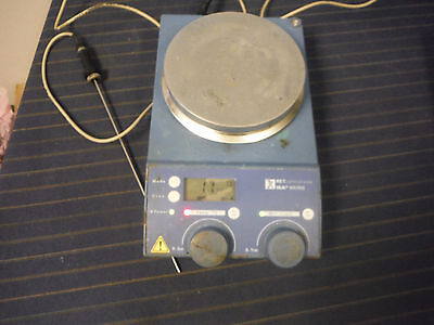 IKA Werke RET Control-Visc S1 Hot Plate/Stirrer w/ Probe!! Tested! Working!
