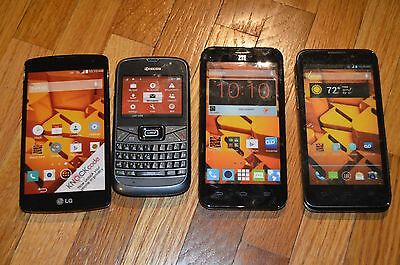 Lot of 4 Dummy Display Fake Prank Phones Hyperealistic! Free Shipping!