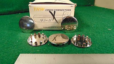 "(5) TRW Cinch 41H 1-1/4"" Snap In Hole Closure Cover NOS"