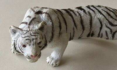 Plastic Wild Animal - White Tiger