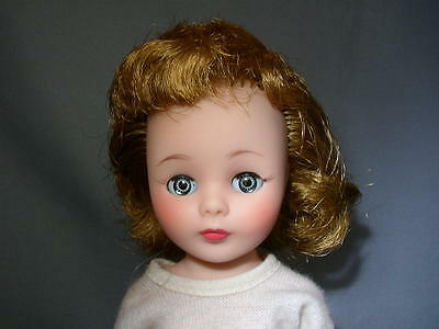 Vintage 10 in BLONDE American Character TONI DOLL in CHEERLEADER Outfit