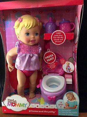 Little Mommy Princess and The Potty Doll New in Box