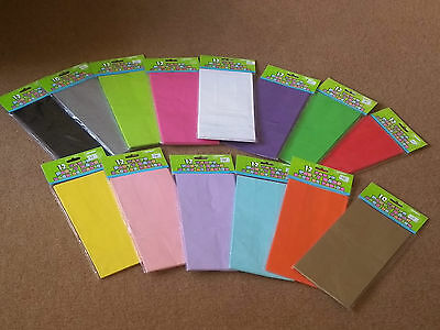 10,12,Paper Party Bags,Plain Solid Colour Sweet Treat Bag, Favor,Gift,Loot,