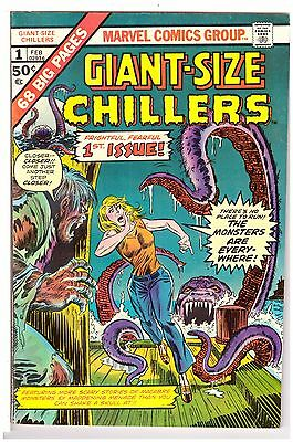 Giant-Size Chillers #1 VG- (3.5) Marvel Comic 1975